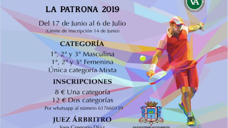 Torneo Social Padel. La Patrona 2019