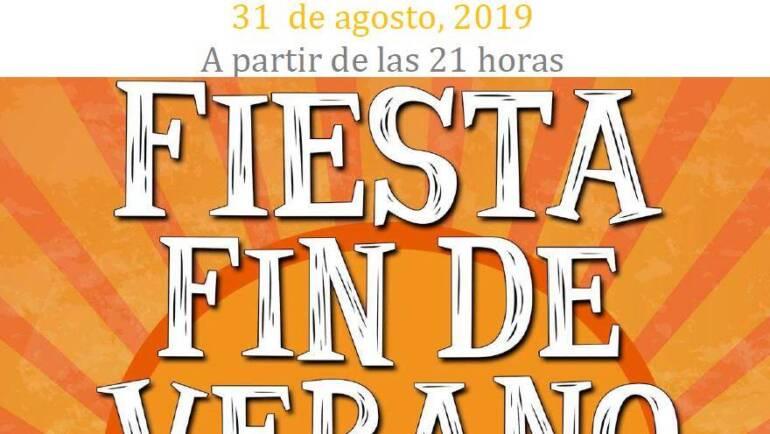 Fiesta fin de verano 2019